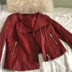 Forever 21 faux leather jacket 🥀